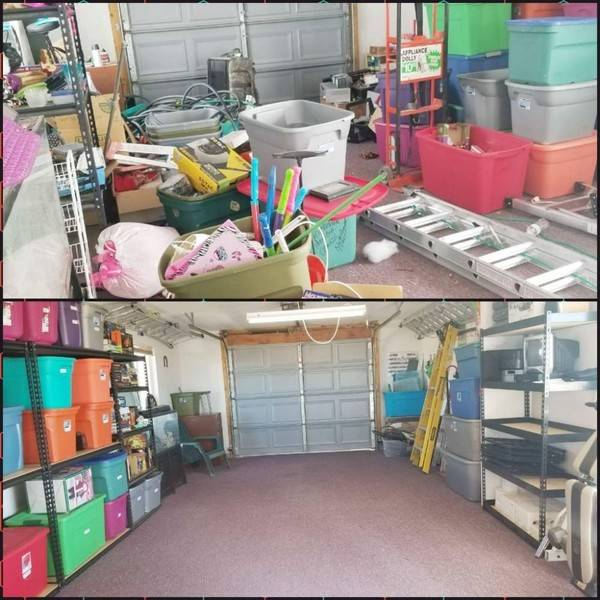 Before & After Garage Cleanup in Tampa, FL (1)