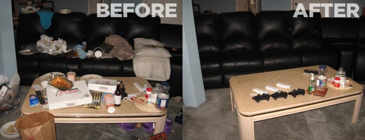 Before and After House Cleaning Services Tampa, FL