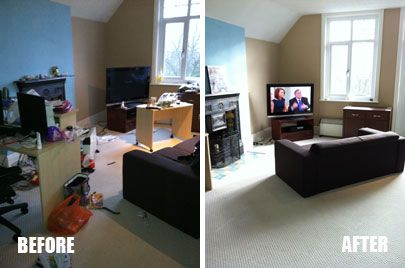 Before and After House Cleaning in Wesley Chapel, FL